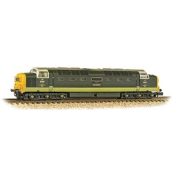Class 55 D9001 'St. Paddy' BR Two-Tone Green (FYE) - Weathered