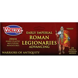 VXA025 Early Imperial Roman Legionaries Advancing