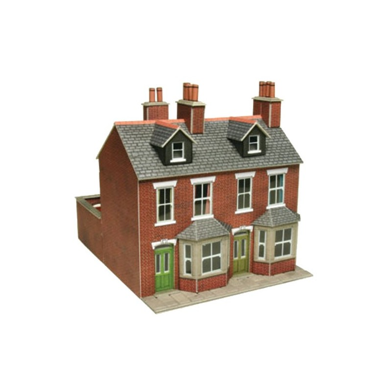 00 brick terraced houses for Brick kit homes