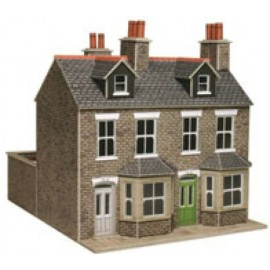 Stone terraced houses