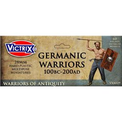 German warriors 100bc-200ad - 28mm miniatures
