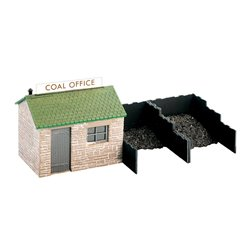 Coal yard hut