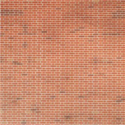 N Scale Red Brick Sheets (x9)