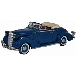 Musketeer Blue Buick Special Convertible 1936