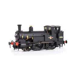 LSWR Beattie Well Tank with Square Splashers 30586 BR Black (L-Crest)
