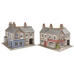 Corner Shop & Pub Card Kit - Stone