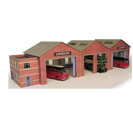 Bus Depot - Card Kit, each bay 70 x 70mm
