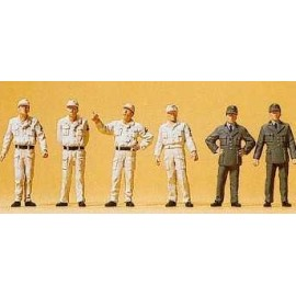 THW Workers 1950 (6) Exclusive Figure Set