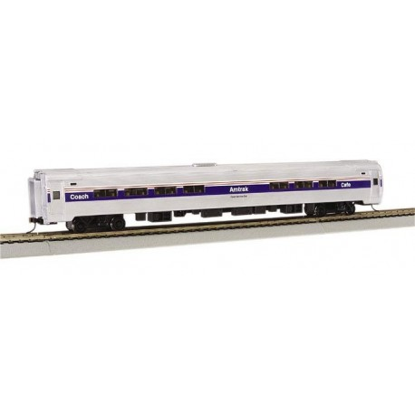 American 85ft Amfleet I Phase IV B Amtrak CAF with interior lights