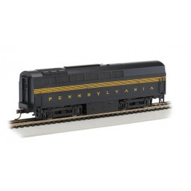 "American Baldwin RF-16 Shark B unit diesel loco in ""Pennsylvania RR"" Brunswick green five stripe livery DCC"