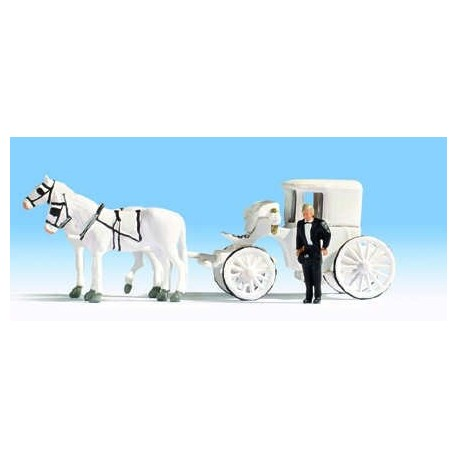 Horse Drawn Wedding Carriage