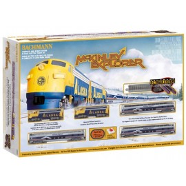 American McKinley Explorer complete train set