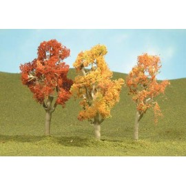 Aspen Trees / Autumn (3) (n gauge)