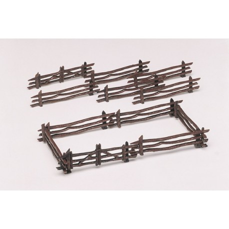 Kit - Rustic Fence (12 Pcs) - O gauge