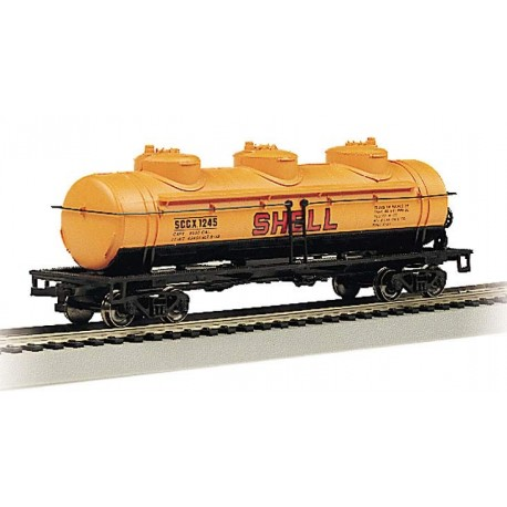 40ft. 3-Dome Tank Car Shell