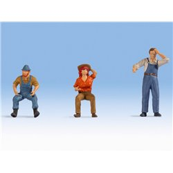 Tractor Drivers (3) Figure