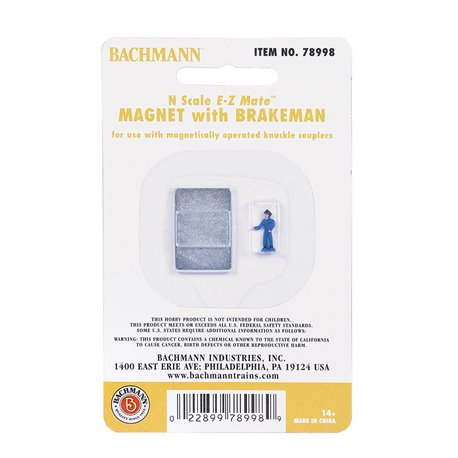 Magnet With Brakeman Figure