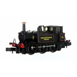 N Gauge Terrier A1X No.72 Newhaven Harbour Company Lined Black