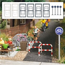 Cycle path accessories