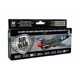 AV Vallejo Model Air Set - US Air Corps Pacific WWII (x8)