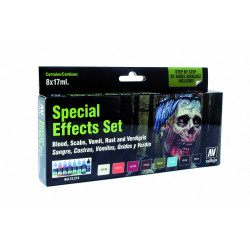AV Vallejo Game Color - Special Effects Set (x8)