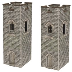 N Scale Watch Towers