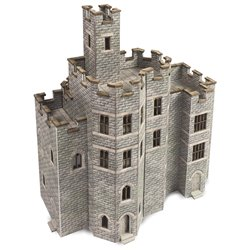 N Scale Castle Hall