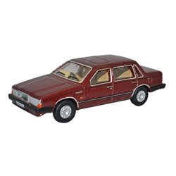 Volvo 760 Red Wood Metallic