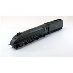 Bachmann A4 '60015 Quicksilver' D/Chimney BR green L/Crest weathered 00 gauge used