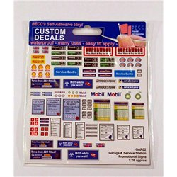 Garage & Service Station Promotional signs, Size: OO