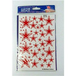 Soviet Stars - Red and White, Size: A5 multize 5-50m