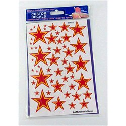 Soviet Stars - Red and Yellow, Size: A5 multize 5-50
