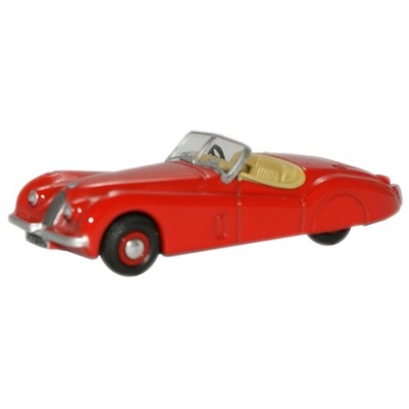 Jaguar XK120 Red
