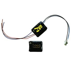 Zen Black Decoder: Universal easy to fit 8-pin direct decoder with 6 functions