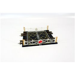 Hornby R636 Double track level crossing OO gauge used