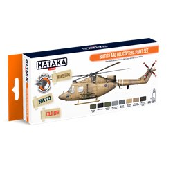 British Aac Helicopters P Set