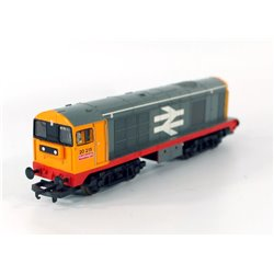 Lima L205159 Class 20 Diesel in BR Railfreight red stripe livery OO gauge used