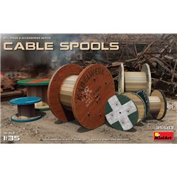 Cable Spools 1:35 military model kit