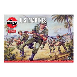 1:76 scale WWII US Marines figures x45
