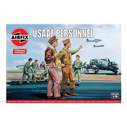 1:76 scale USAAF Personnel (WWII) 'Vintage Classics series' figures x46