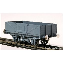 7mm scale 0 gauge 5 - Plank Square End Open Waggon Kit