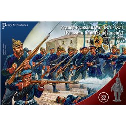 PRUSSIAN INFANTRY ADVANCING