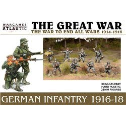 German Infantry (1916-1918) - x30 figures 28mm scale