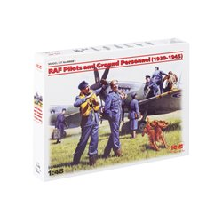 RAF Pilots and Ground Personnel 1939-1945 - 1/48 scale