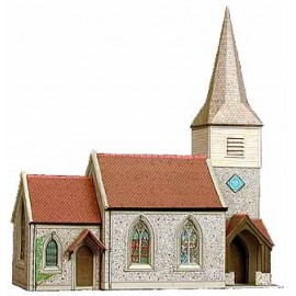 Country Church H: 220mm - Card Kit