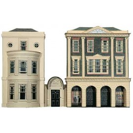 Regency Period Shops & House H: 170mm - Card Kit