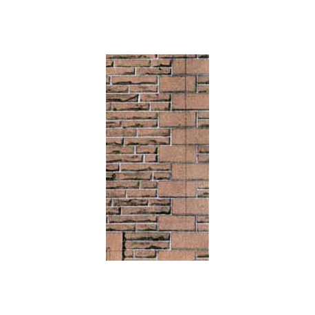 Building Papers - Red Sandstone Walling