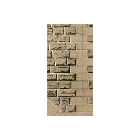 Building Papers - Grey Sandstone Walling (Ashlar Style)
