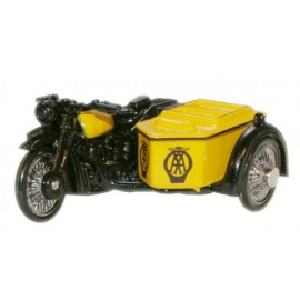 BSA Motorcycle and Sidecar AA