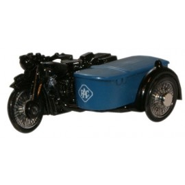 BSA Motorcycle and Sidecar RAC